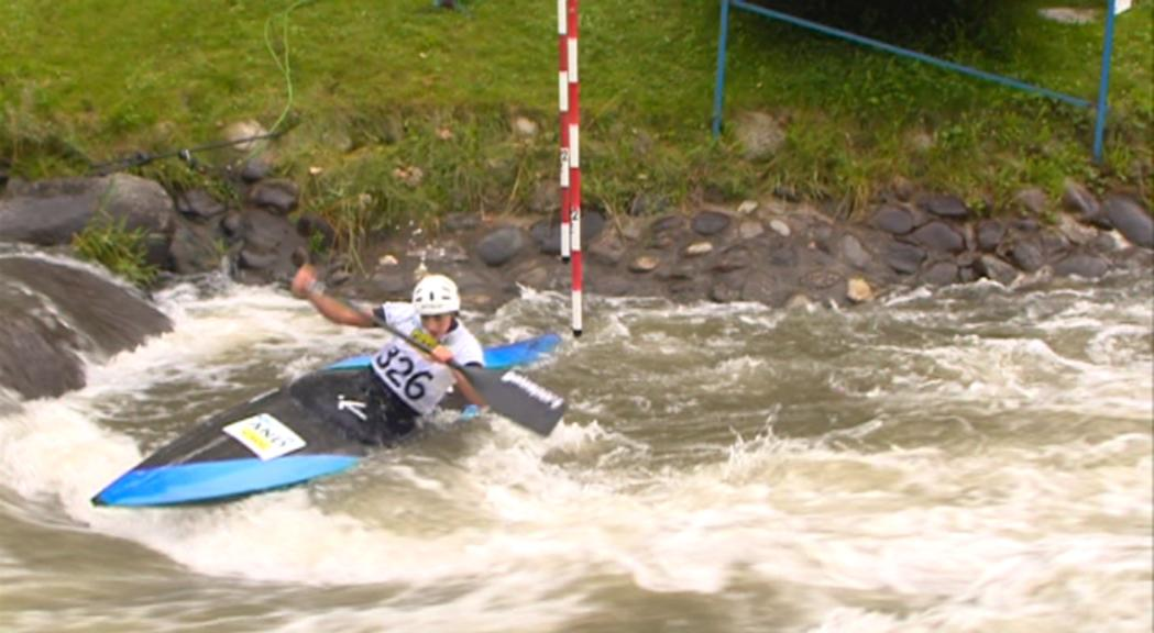 Mònica Doria es classifica per a la semifinal de canoa de l'Europeu sub-23