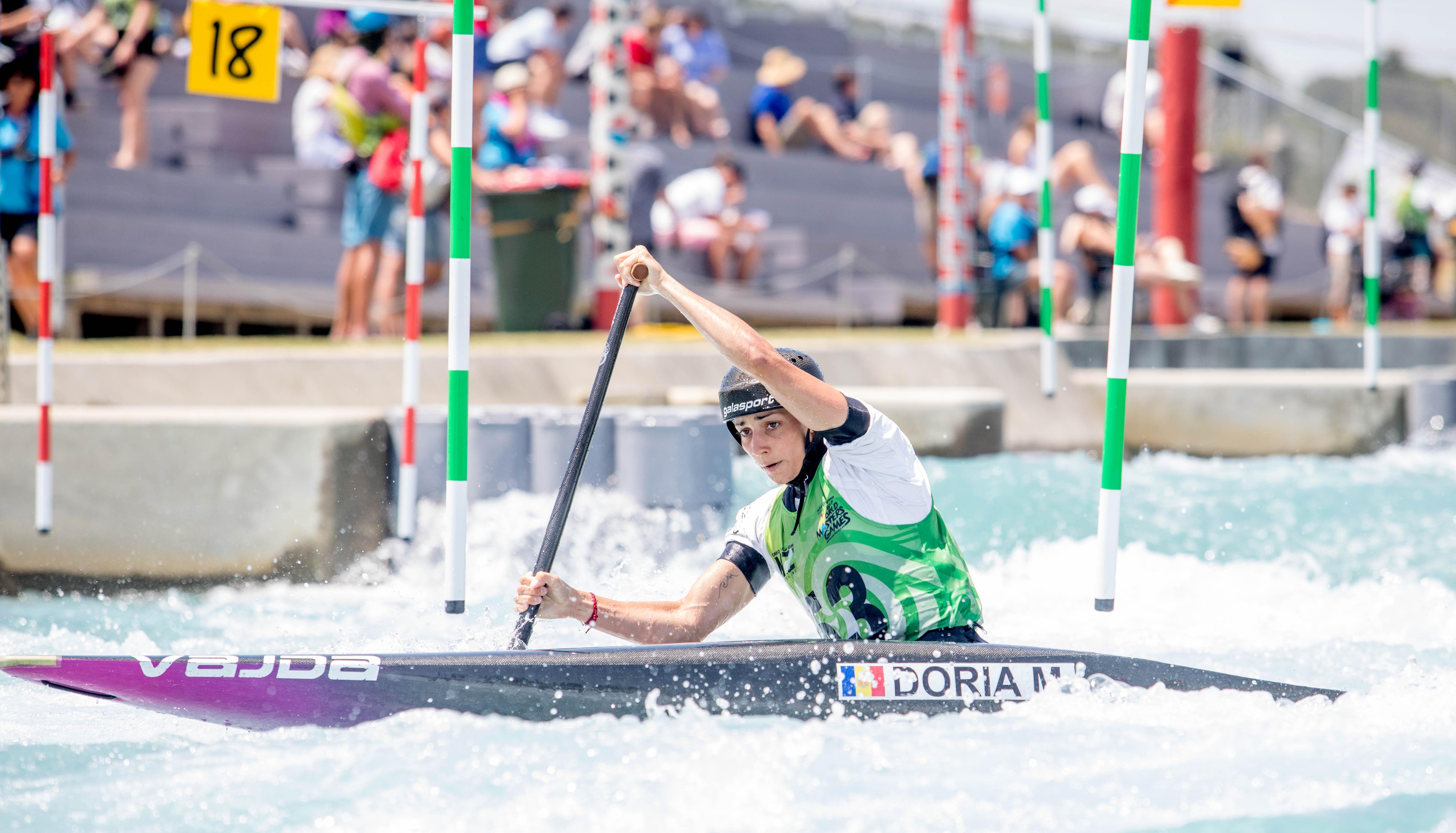 Mònica Doria, segona al Campionat d'Oceania de canoa