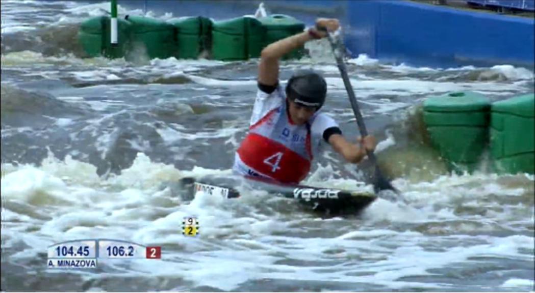 Mònica Doria, vuitena del món en el Mundial sub-23 de canoa