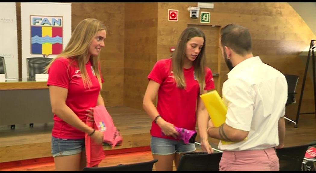 Mònica Ramírez i Nàdia Tudó obren la participació andorrana en l'Europeu de piscina llarga