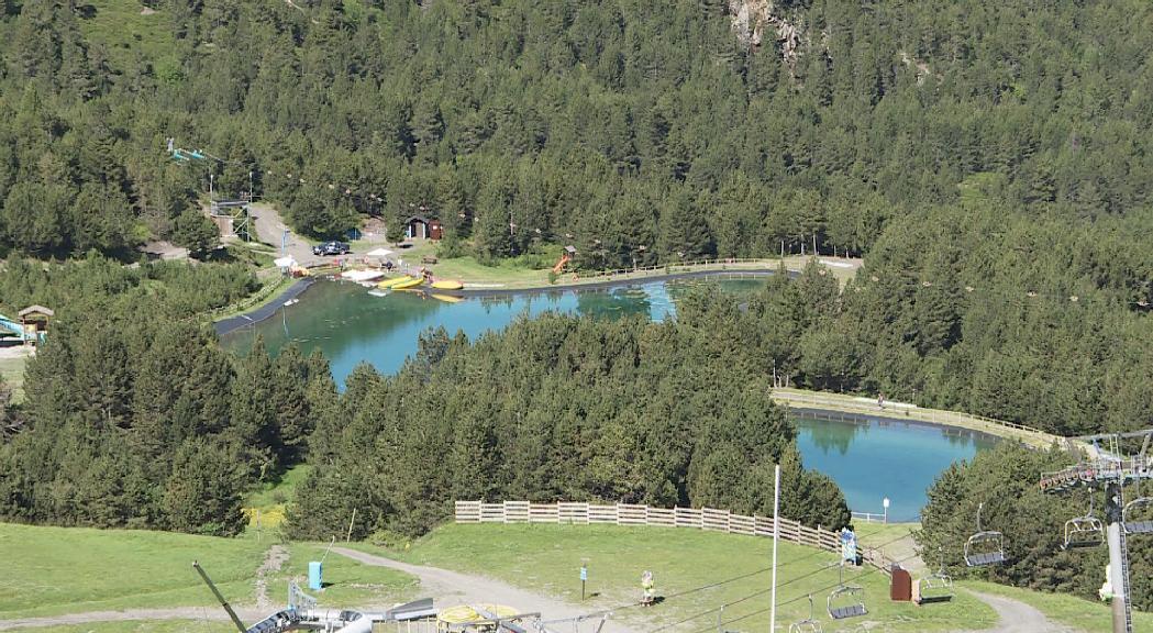 El Mon(t) Màgic de Grandvalira rep prop de 35.000 visitants  durant l'estiu i iguala la facturació de l'any passat
