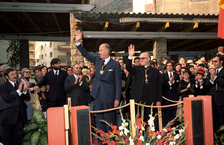 Mor per la Covid-19 l'excopríncep d'Andorra Valéry Giscard d'Estaing