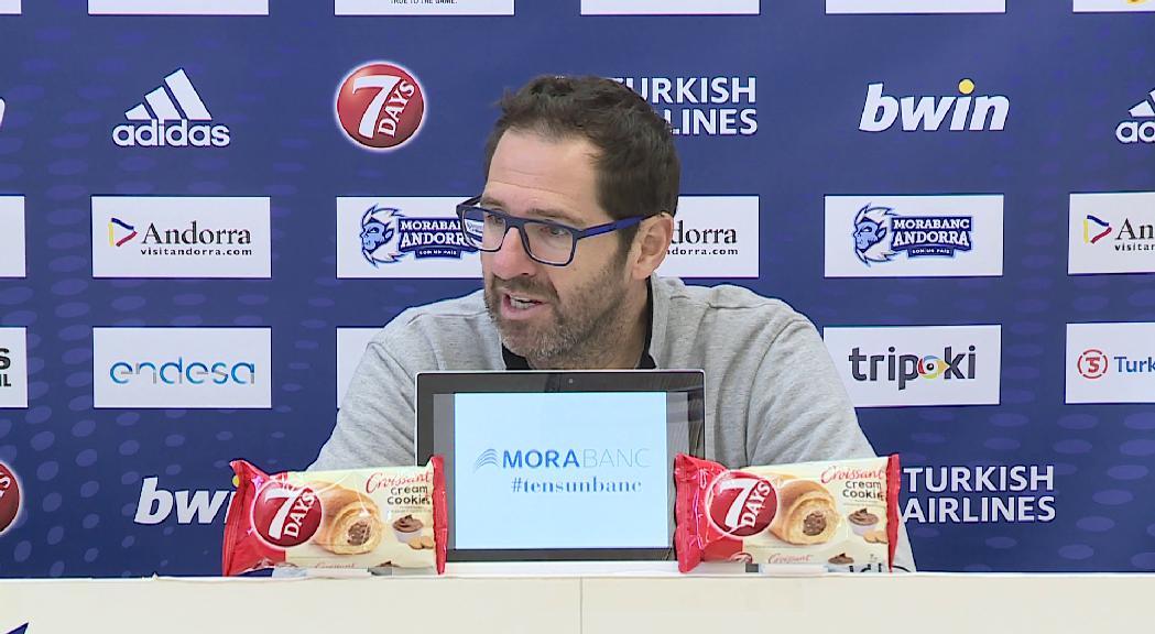 El MoraBanc afronta el debut a casa a l'Eurocup amb bones sensacions