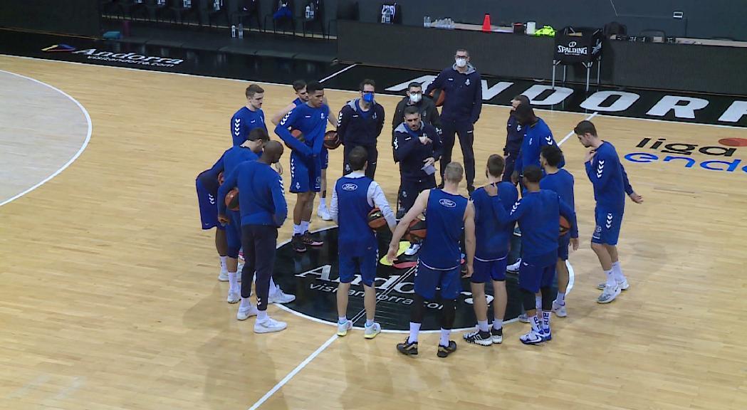 El MoraBanc Andorra busca la cinquena victòria a la pista d'un Bilbao Basket reforçat