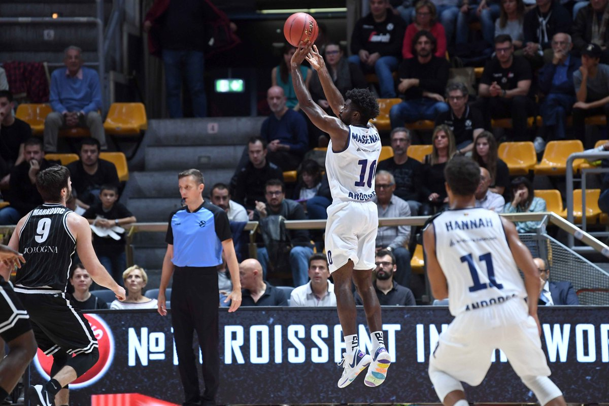 El MoraBanc Andorra fa el que pot a Bolonya (87-72)