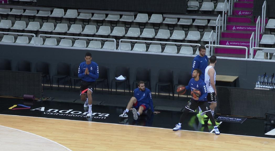 El MoraBanc Andorra, més a prop de tornar a jugar