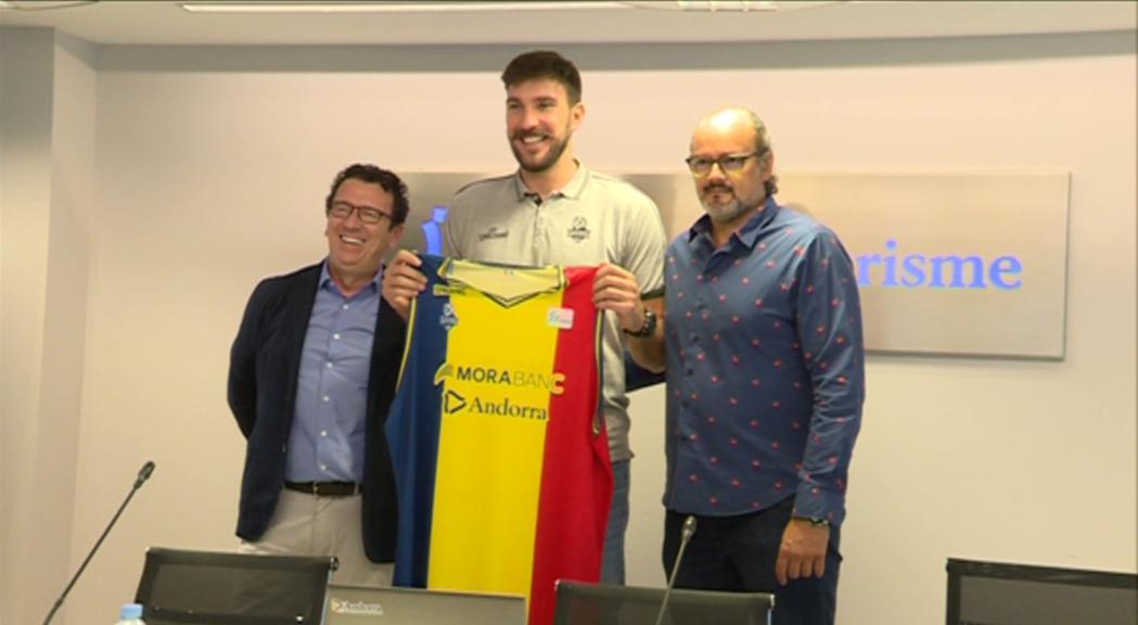 El MoraBanc Andorra presenta el seu jugador franquícia, Dejan Musli