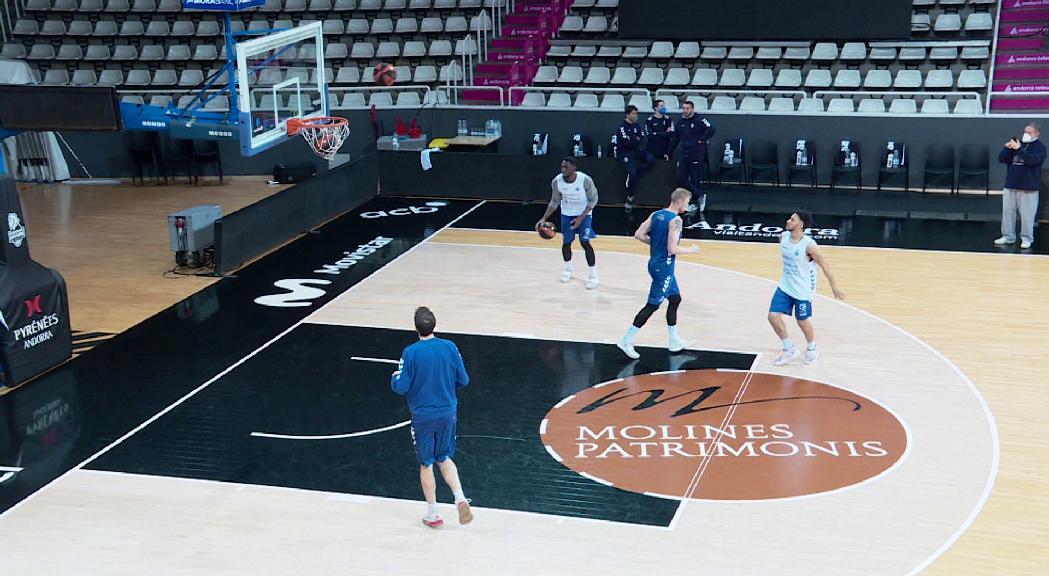 El MoraBanc Andorra recupera efectius de les finestres FIBA