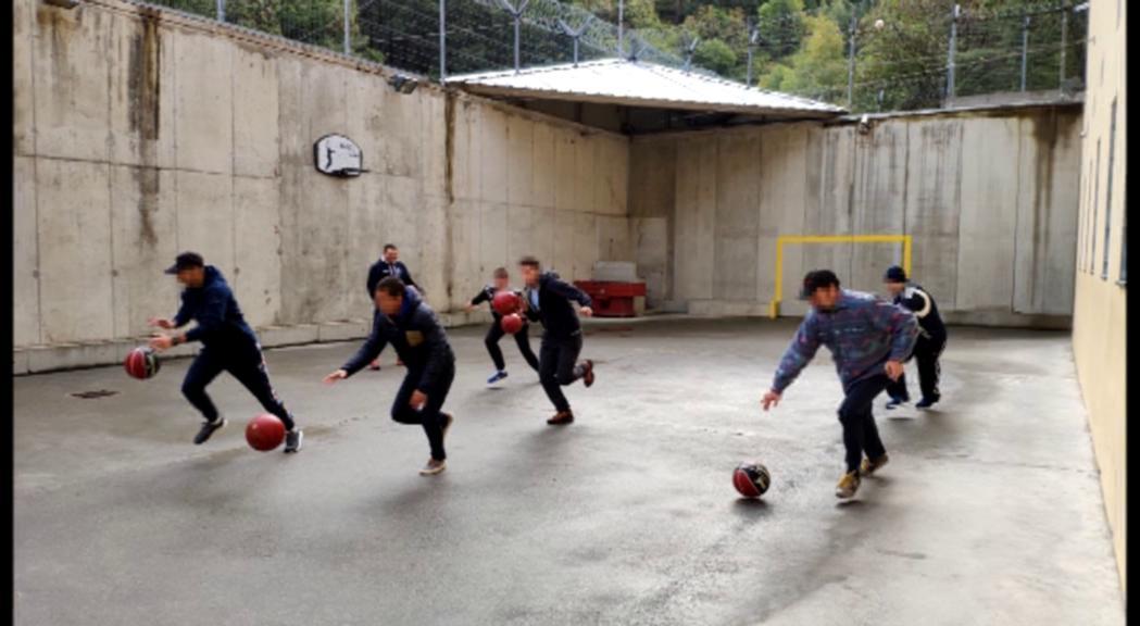El MoraBanc Andorra repeteix visites al centre penitenciari vistos els beneficis del projecte One Team
