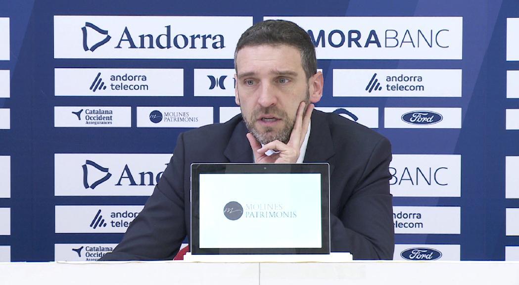 El MoraBanc Andorra es retroba amb la victòria davant del Monbus Obradoiro