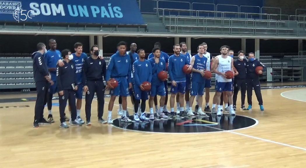 El MoraBanc Andorra torna a la competició aquest dijous