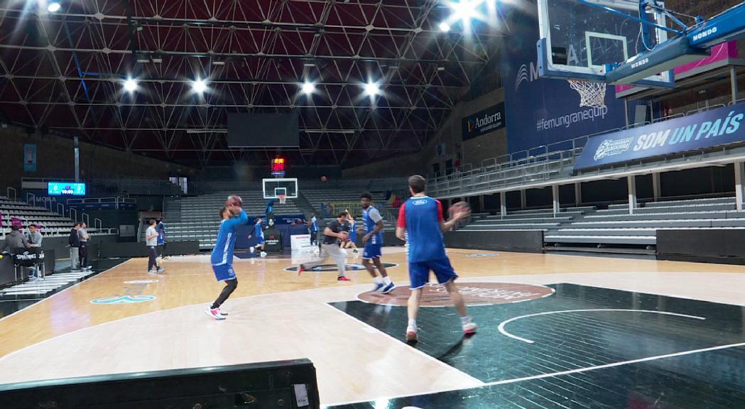 El MoraBanc Andorra torna a la feina