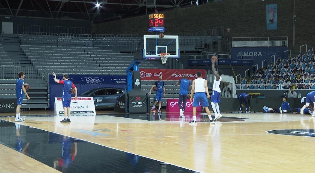 El MoraBanc Andorra vol seguir somiant a Múrcia