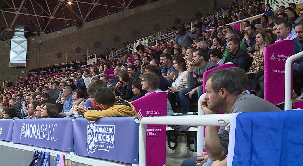 El MoraBanc-Bilbao serà a porta tancada pel coronavirus