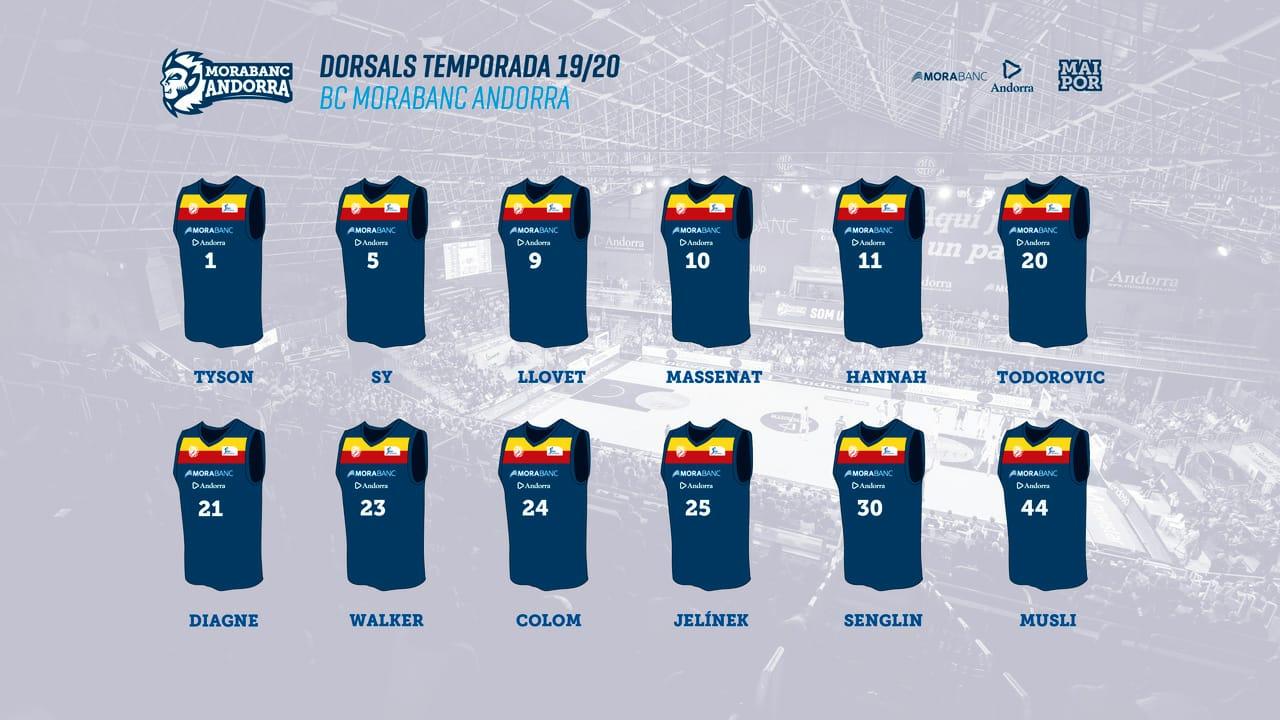 """El MoraBanc ja té el seu """"roster"""""""