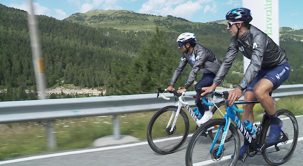 Movistar va al Tour amb el trident Valverde-Soler-Mas al complet i cinc residents en total