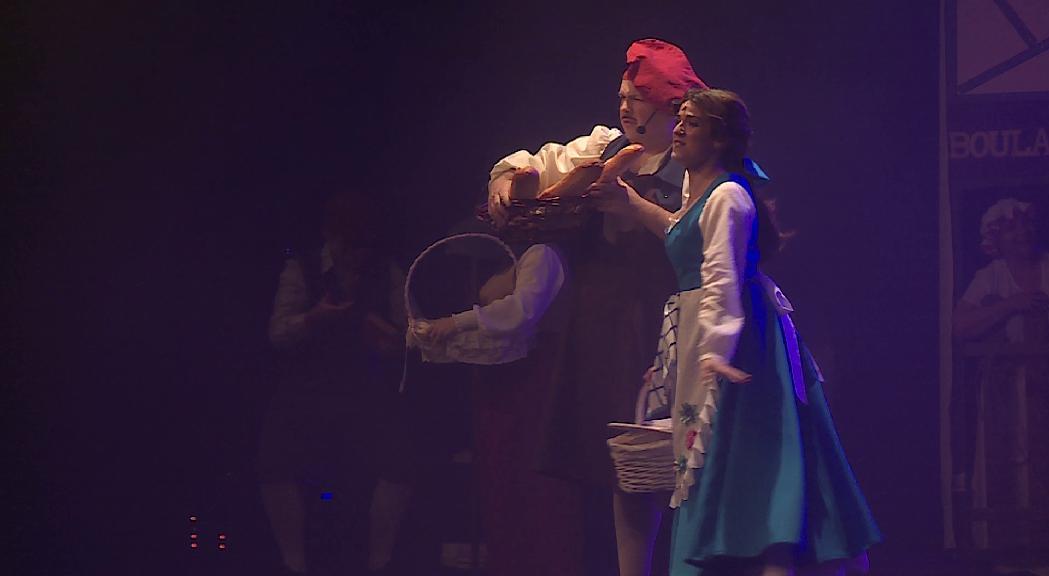 El musical infantil 'La Bella y la Bestia' posa el punt final al calendari teatral d'Encamp 2020