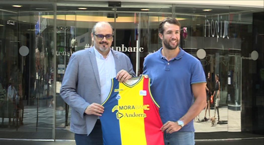 Nacho Llovet ja llueix la samarreta del MoraBanc amb l'objectiu de superar la primera fase de l'Eurocup i jugar la Copa del Rei