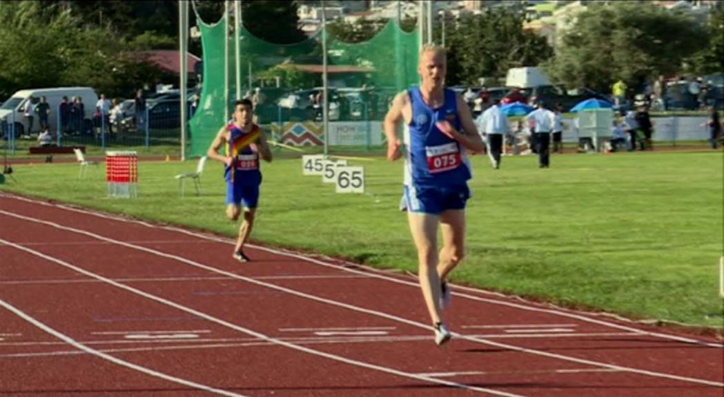Nahuel Carabaña, Dayane Huerta i Pol Moya sumen tres metalls més en atletisme