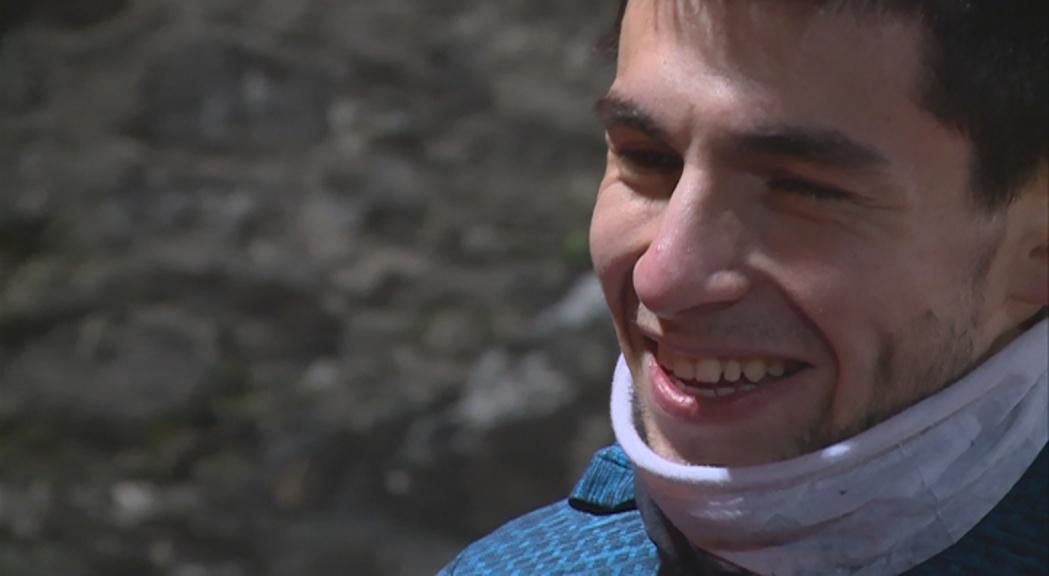 Nahuel Carabaña participa en el Campionat d'Europa de cros amb l'objectiu de millorar