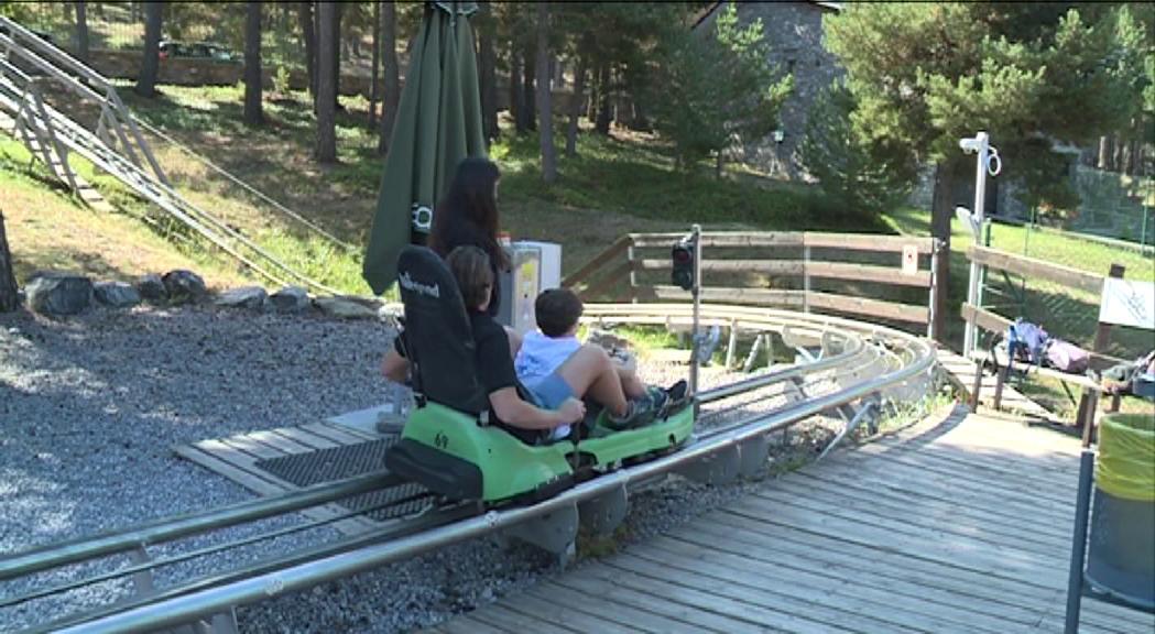 Naturlàndia ha tancat la temporada d'estiu amb un incremen