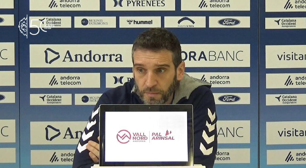 Navarro encara veu marge de millora per al MoraBanc, també en defensa