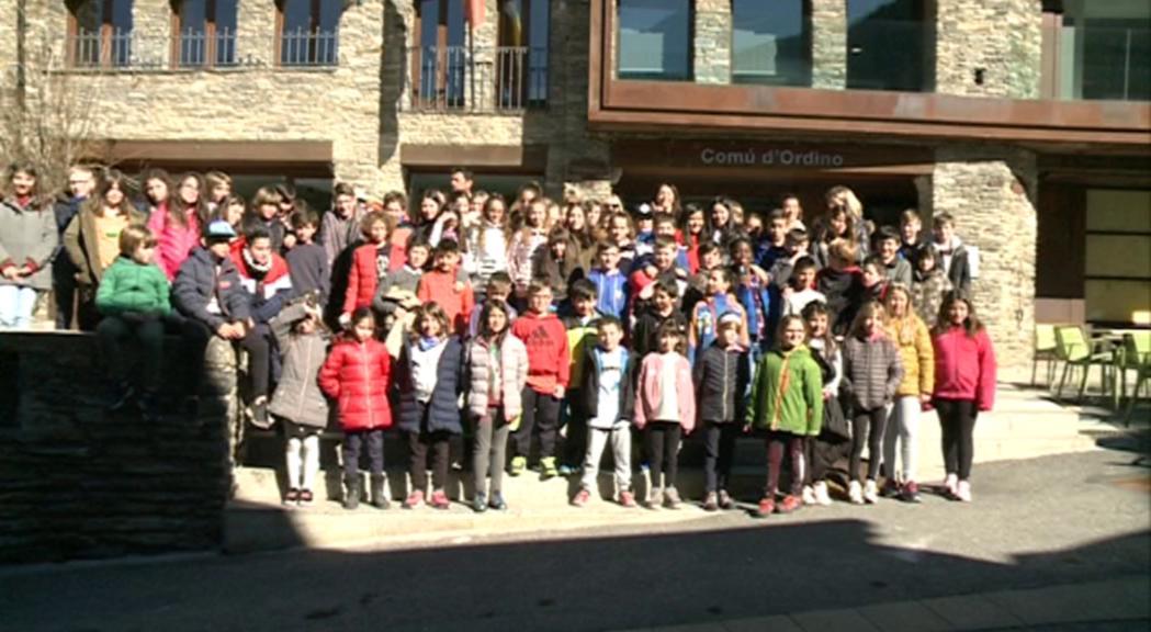 Els nens d'Ordino aproven un programa d'aprofitament d'aliments, brigades de neteja i una plantada d'arbres