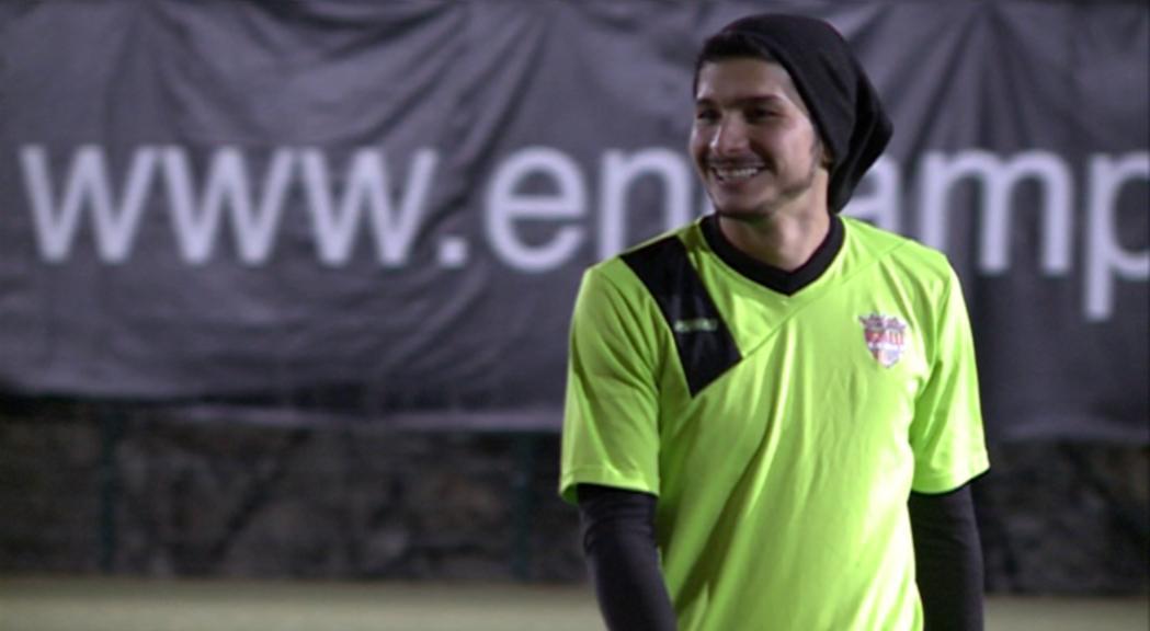Nico Ratti ja entrena amb els seus companys de l'FC Andorra