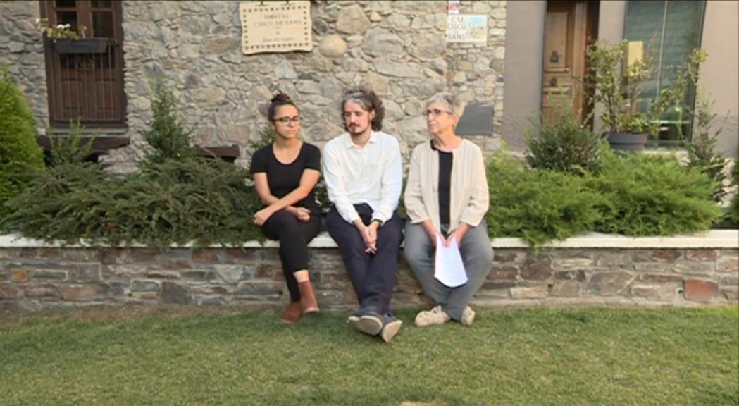 """Nil Forcada inicia el rodatge de """"Pròfugs"""" per parlar del dilema de quedar-se o marxar d'Andorra"""