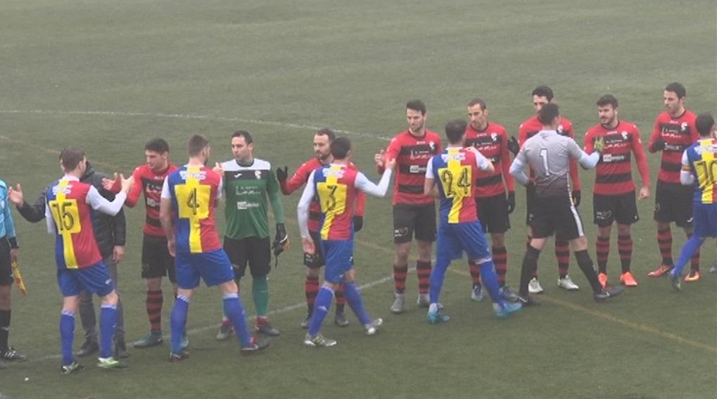 El nou FC Andorra cau a Almacelles en l'estrena de Gabri i Jorquera a la banqueta (3-2)
