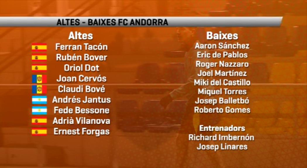 El nou FC Andorra comença el repte d'assolir l'ascens aquest dissabte a Almacelles