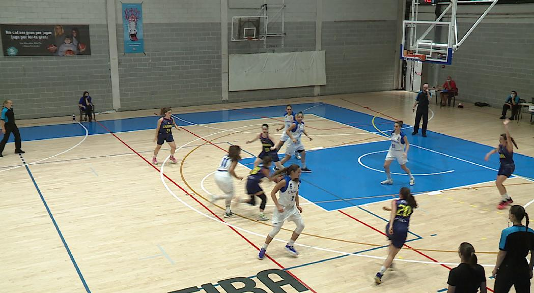 Nova derrota d'Andorra en l'Europeu Sub-18 de bàsquet femení