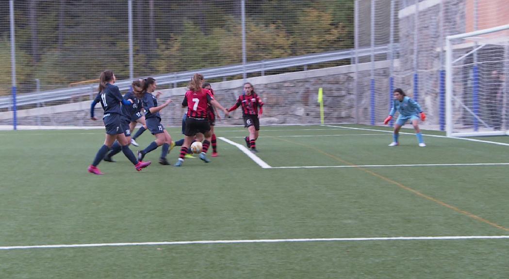 Nova derrota de l'ENFAF femení per 1 a 5 contra el CF Pallejà