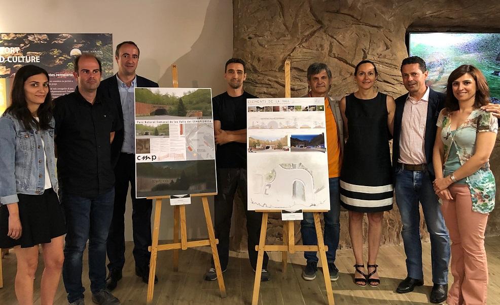 Nova imatge per a l'entrada del parc natural del Comapedrosa