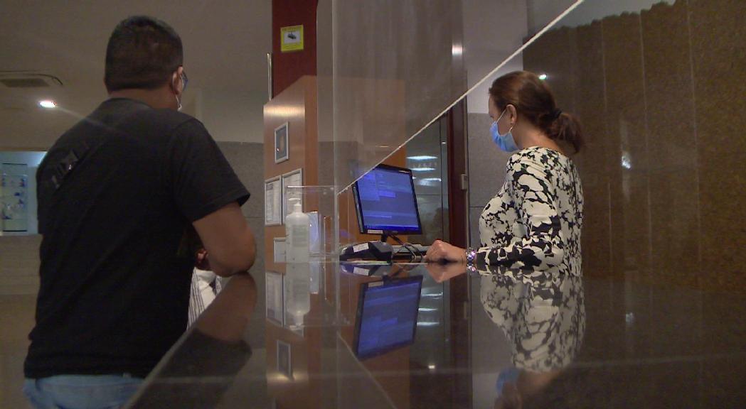 L'ocupació hotelera es manté en el 40% la darrera setmana i registra un pic per la Diada de Catalunya