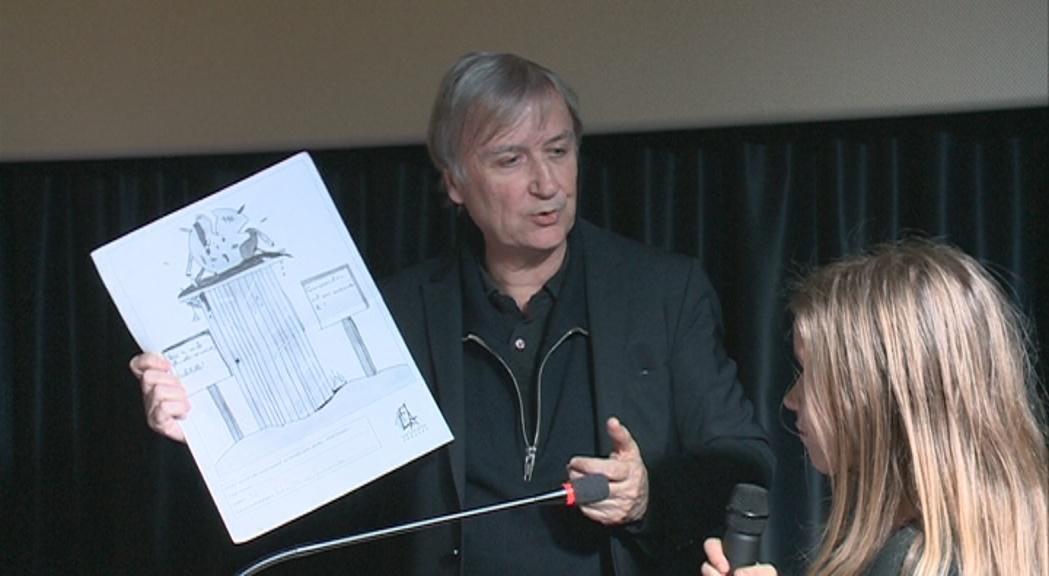 La conferència del dibuixant de premsa francès Plan