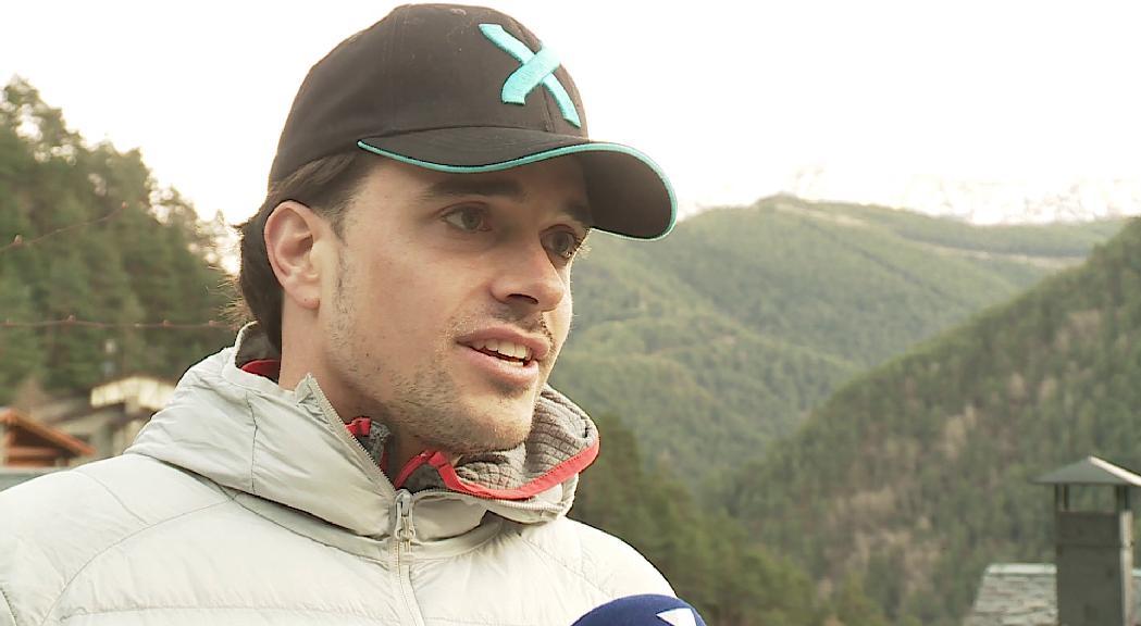 Oliveras espera que els bons resultats a la Copa d'Europa d'esquí cross l'ajudin a fer el salt a la Copa del Món