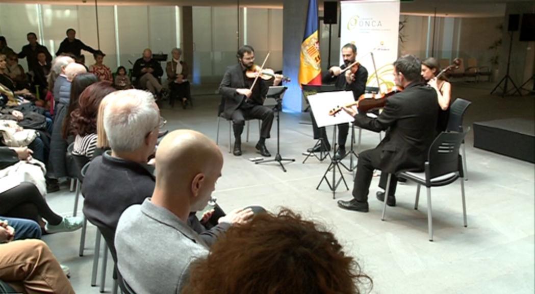 L'ONCA celebra un doble aniversari amb el concert de la Constitució