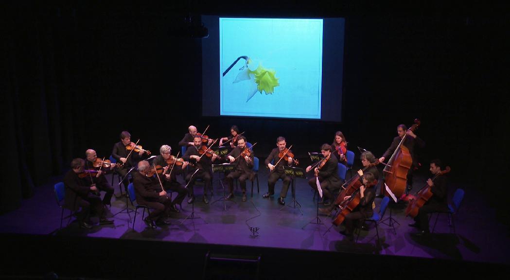 L'ONCA fa volar la imaginació del públic traslladant-lo a les valls del país amb música i imatges