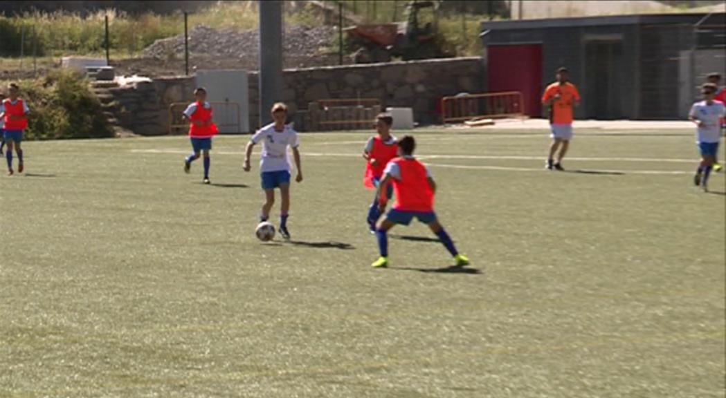 Onzena edició del Campus Marc Bernaus amb 75 aspirants a futbolista
