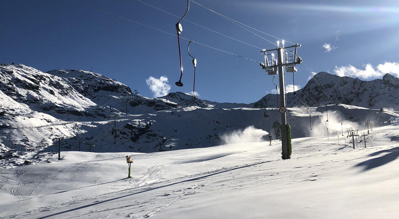 Ordino Arcalís ajorna l'obertura de pistes i es marca com a nova data l'1 de desembre