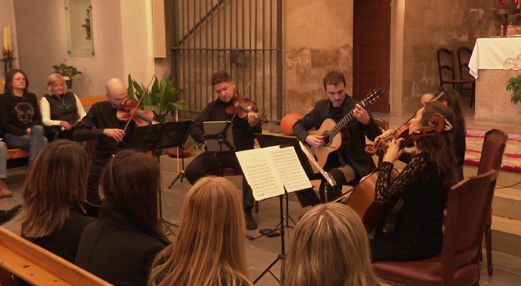 L'Ordino Clàssic continua amb l'actuació de 5AndCordes a l'església de Sant Corneli i Sant Cebrià