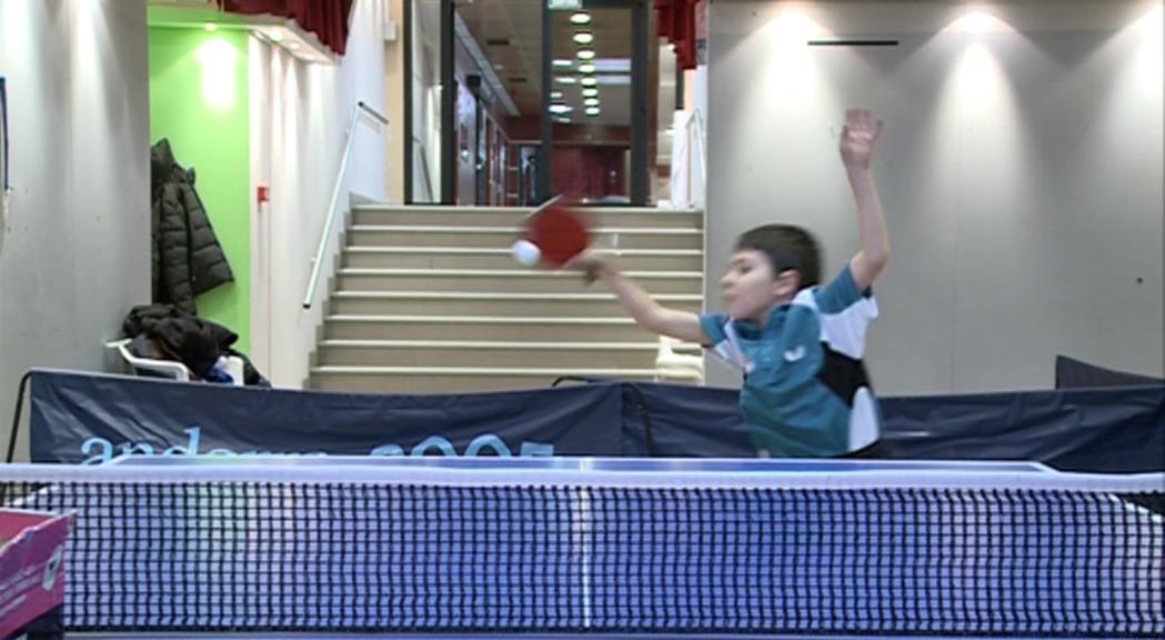 Oriol Martínez, el primer andorrà i el jugador més jove a l'Open de Janos Molnar