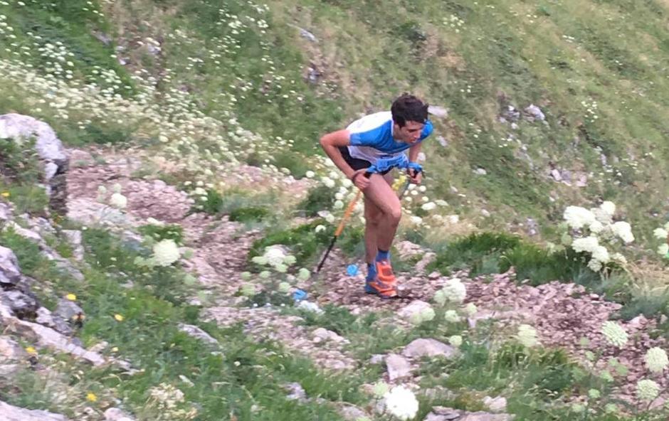 Oriol Olm, campió del món juvenil de quilòmetre vertical a Gran Sasso