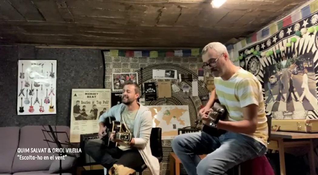 Oriol Vilella i Quim Salvat homenatgen Grup de Folk amb una versió de Bob Dylan