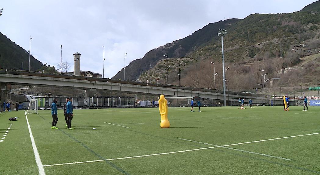 L'Oriola, un punt d'inflexió per al FC Andorra en el primer partit de Castro a casa