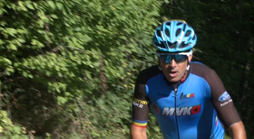 Òscar Cabanas, 34è a la contrarellotge de l'Europeu de ciclisme