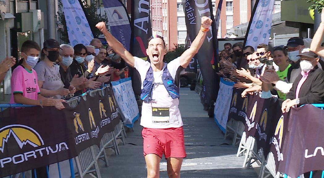Òscar Casal s'imposa amb claredat a La Sportiva Andorra Trail