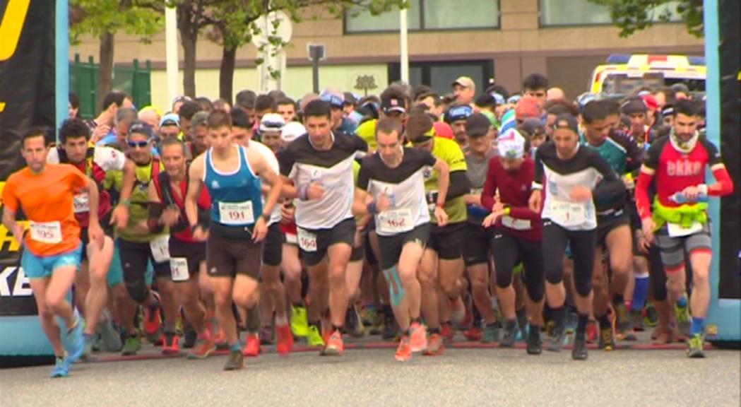 Òscar Casal i Roser Español s'imposen en la 3a Jorma Urban Trail amb rècord de participants