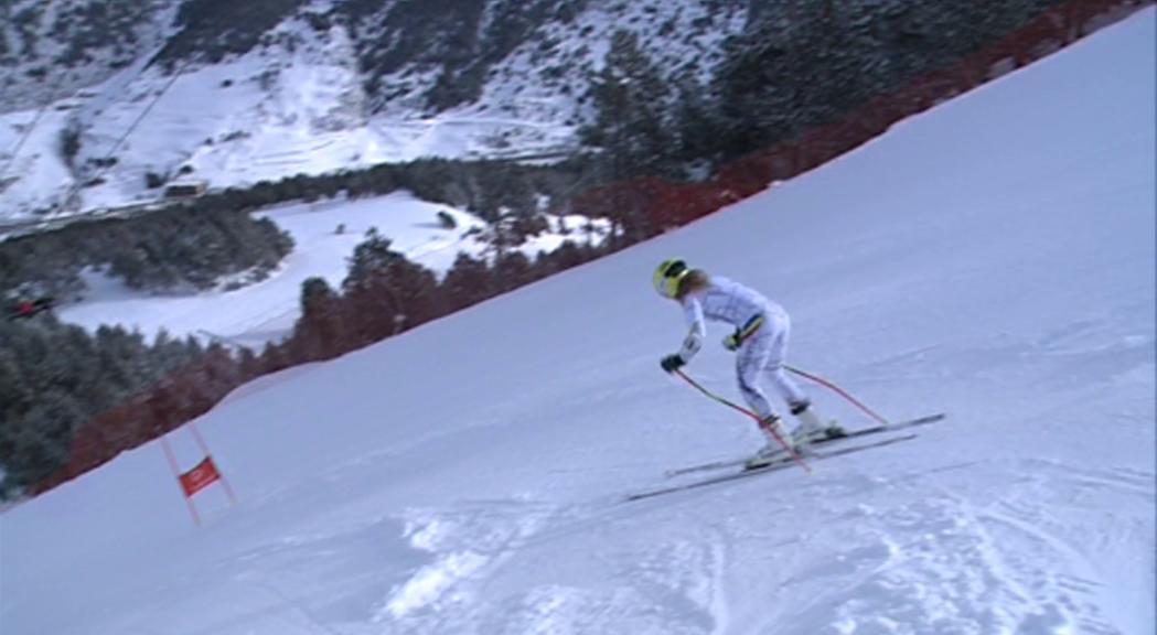 També en esquí, bones notícies des d'&Agrave